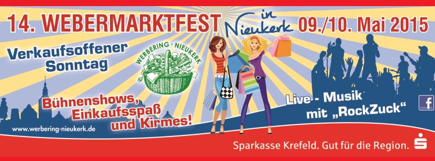 Photo of RockZuck beim Webermarktfest Nieukerk 2015