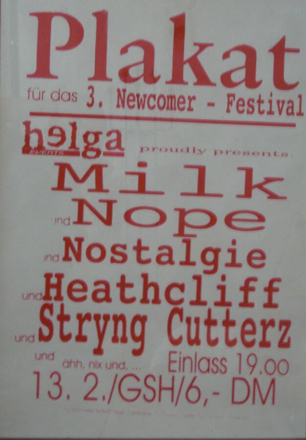 3. Newcomer Festival Neuss 1998