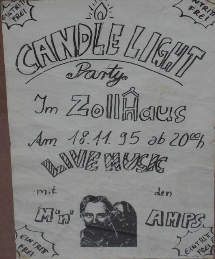 Candlelight Party im Zollhaus 1995