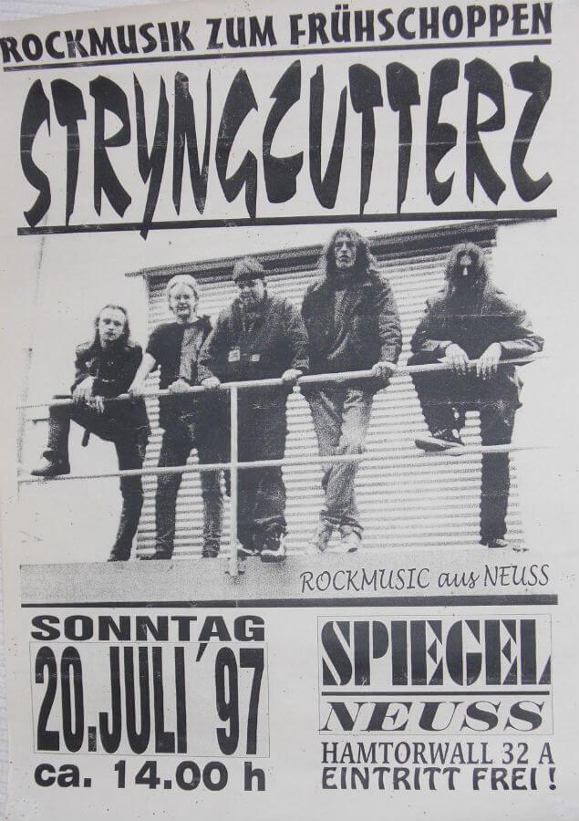 Rock zum Frühschoppen im Spiegel in Neuss 1997