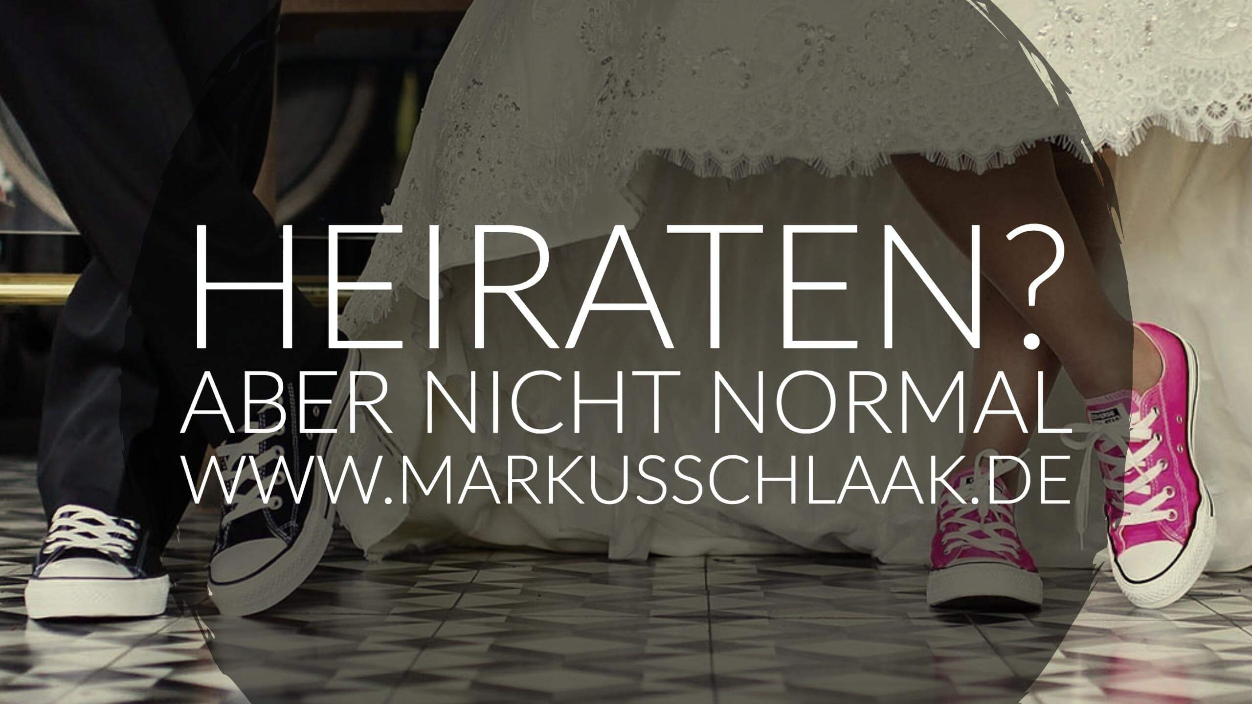 Photo of Heiraten? Aber nicht normal…
